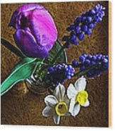 Bouquet Of Bulbs Wood Print