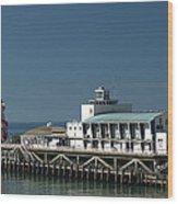 Bournemouth Pier Wood Print