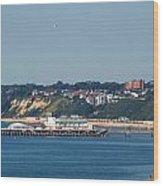 Bournemouth Pier In Dorset Wood Print