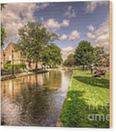Bourton On The Water Wood Print