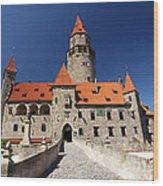 Bouzov Castle Wood Print