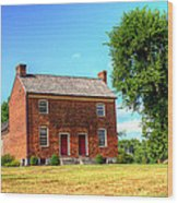 Bowen Plantation House 002 Wood Print