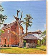 Bowen Plantation House 003 Wood Print