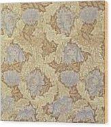 Bower Wallpaper Design Wood Print