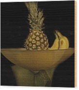Bowl Of Fruit 1 Wood Print