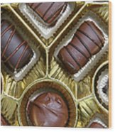 Box Of Chocolates Wood Print