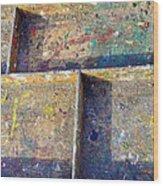Box Palette Paint  Wood Print