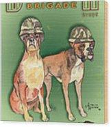 Boxer Brigade Chew Toys Wood Print