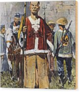Boxer Rebellion, 1900 Wood Print