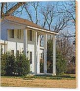 Boyd Lane Plantation Wood Print
