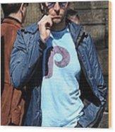 Bradley Cooper On Location Film Shoot Wood Print by Everett