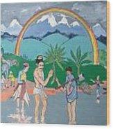 Brahmadatta Finds Mango Wood Print by Scott Cumming