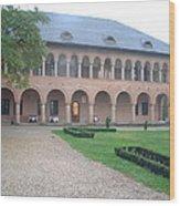 Brancovenesc Castle Romania Wood Print