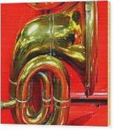 Brass Band Wood Print