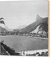 Brazil: Rio De Janeiro Wood Print