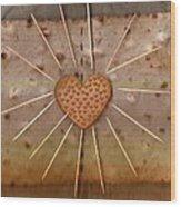 Bread  Sunshine And Love Wood Print