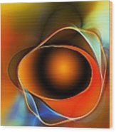 Breakthrough - A Spiritual Awaking Wood Print