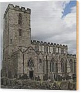 Breedon Church Wood Print