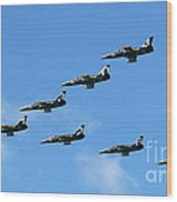 Breitling In The Air 04 Wood Print