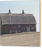 Brick Barn Wood Print