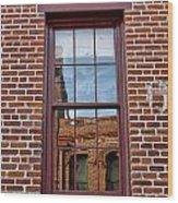 Bricks In Bricks Wood Print