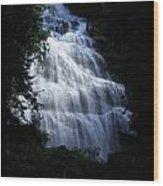Bridal Falls 03 Wood Print