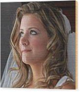 Bride Wood Print