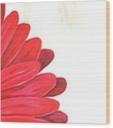 Bride's Bouquet Wood Print