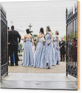 Bridesmaids Wood Print