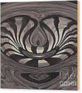 Bridge Abstract 03 Wood Print