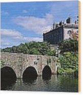 Bridge Across A Lake, Westport House Wood Print