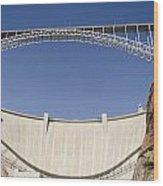 Bridge Crossing Colorado River And Glen Wood Print