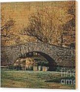 Bridge From The Past Wood Print