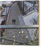 Bridge Of Locks Wood Print