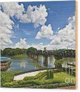 Bridge On The River Kwai Thailand Wood Print