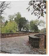Bridge Over Bull Run Wood Print