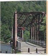 Bridge Over Southern Waters Wood Print