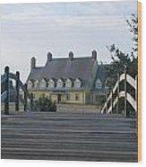 Bridge To Whalehead Wood Print