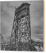 Bridge Tower 3390 Wood Print