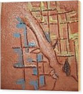 Bridges  - Tile Wood Print