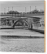 Bridges Wood Print