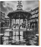 Bridgeton Cross Bandstand Glasgow Wood Print by John Farnan