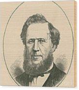 Brigham Young Wood Print