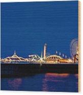 Brighton Palace Pier Wood Print