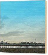 Brighton Pier Panorama Wood Print