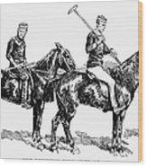 Brighton Polo Club, 1877 Wood Print
