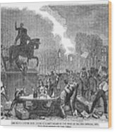 Bristol: Reform Riot, 1831 Wood Print