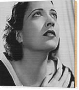 British Agent, Kay Francis, 1934 Wood Print by Everett