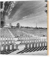 British Cemetery Wood Print