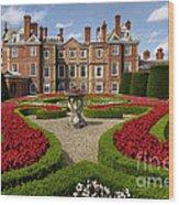 British Garden  Wood Print